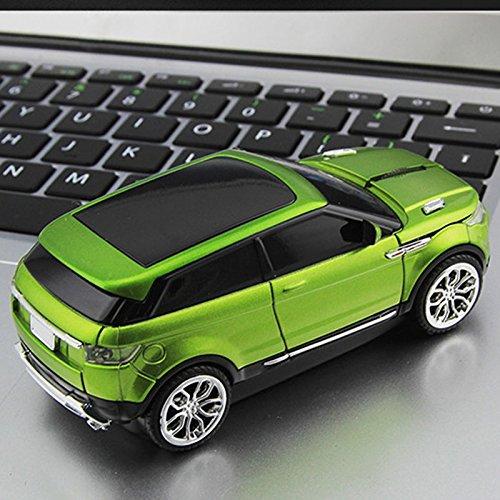 Cewaal Mode 2.4GHz Wireless Optische Maus SUV-Form Sports Utility Vehicle Shape Maus für PC Computer Laptop