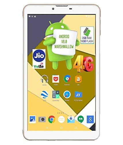 I KALL N5 (7-inch, 2 GB, 16 GB 4G Calling Tablet) White