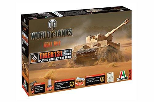 Italeri 36512 1:35 Tiger 131 Limited Edition WoT