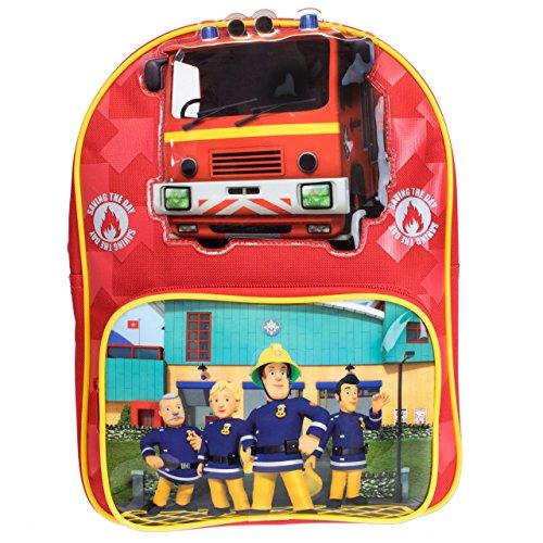 Sam le Pompier Garçon Sac à dos Fireman Sam - Rouge -