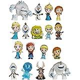 """Mystery * Mini Disney """"Anna y La Reina de las Nieves"""", la serie 1 de 60 mm de altura sobre el plaestico pintado Trading Figures [1BOX = 12 piezas]"""