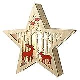 Heaven Sends Weihnachtsdekoration Licht bis Woodland Star–Beleuchteter