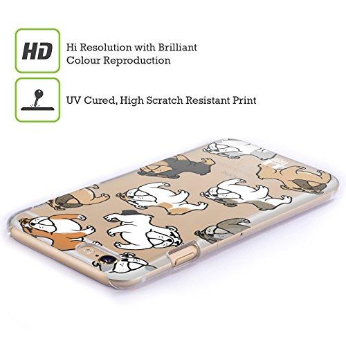 Head Case Designs Corgi Hunderasse Muster Ruckseite Hülle für Apple iPhone 5 / 5s / SE Bulldog