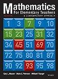 Mathematics for Elementary Teachers: A Contemporary Approach by Gary L. Musser (2013-09-16)