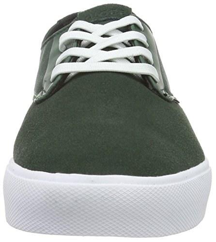 Globe Motley Lyt, Baskets Basses Homme Vert - Grün (Green/White)