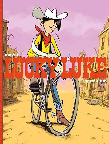 Lucky Luke sattelt um - Vorzugsausgabe