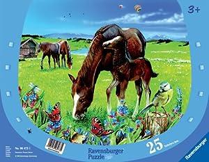 Ravensburger 06473 - Puzzle Infantil (25 Piezas), diseño de Caballos