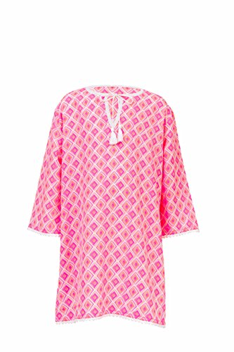 Snapper Rock Maillot Diamond Plage Tunique, Corail lpink, 86–92 cm/18-24 m