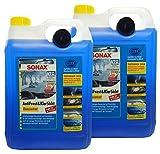 Preisjubel 2 x SONAX AntiFrost&KlarSicht Konzentrat 5 l, Frostschutz, Enteiser, Reiniger