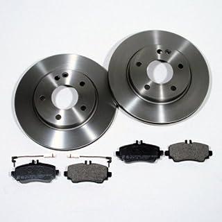 Bremsscheiben Ø 295 mm/Bremsen + Bremsbeläge + Sensor für vorne