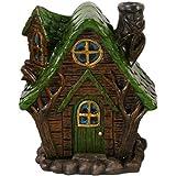 Hada Casa De Ahumado Chimenea Incienso Quemadores Woody Lodge Verde