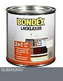 Bondex Lacklasur Silbergrau 0,375 l - 352584