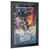 Crystal Art Leinwandbild Star Wars The Empire Strikes Back Episode V, gerahmt, 48,3 x 33 cm, Mehrfarbig