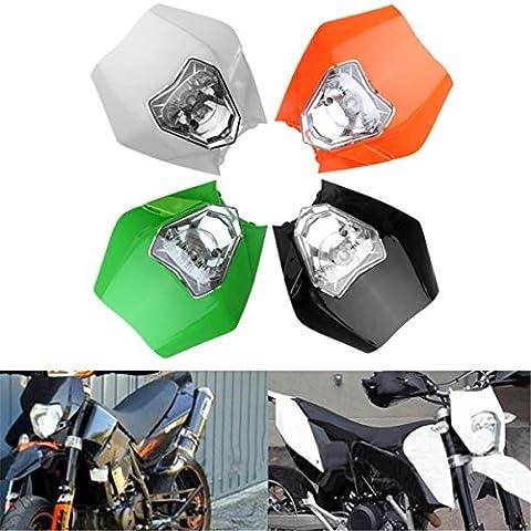 Audew Universel Plaque Phare de Moto KTM Tête de Fourche