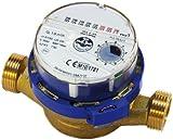 Flujo medidor de agua de alta calidad, el agua fría de 3/4 de pulgada (1 pulgada) metros bsp 4,0 m3 / h