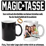 Fototasse bedrucken gestalten Magic Tasse Schwarz. Senden Sie uns nach dem Kauf ihre Druckdaten.