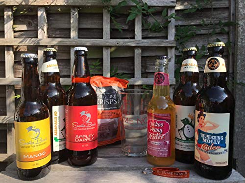 Beer Me Now UK Cider Hamper - Alcohol Hamper from the UK