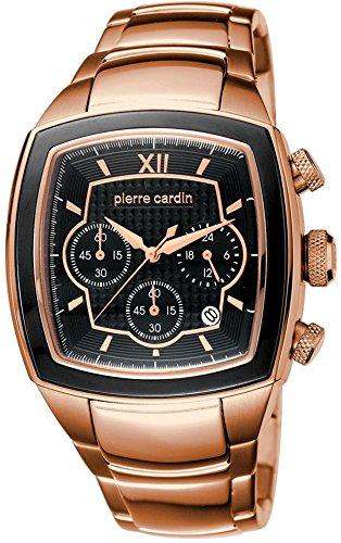 Pierre Cardin Herren-Armbanduhr Général Analog Quarz Edelstahl Swiss Made