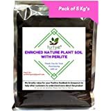 [Sponsored Products]Turtye® Enriched Nature Plant Soil With Perlite - 5 Kg's - Organic Fertilizer For All Crops