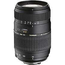 Tamron 70-300mm AF MACRO 1:2 - Objetivo para Pentax (70-300mm, f/4-5.6, macro, 62 mm), color negro