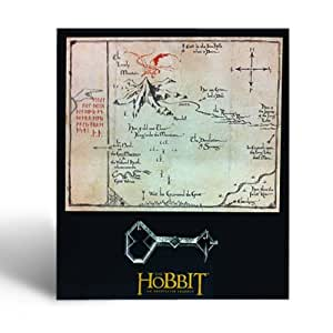 Le Hobbit - Carte & Clé Thorin Ecu De Chêne - Petit