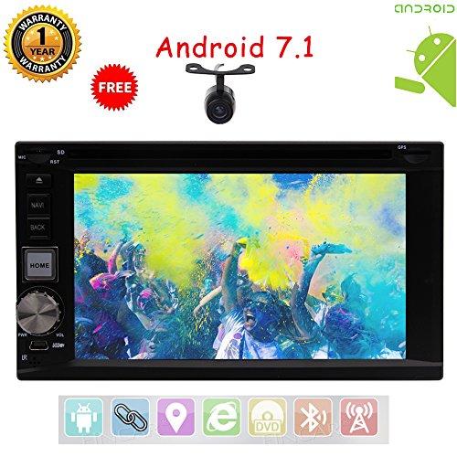 Sichern Kamera include.Eincar Android Auto-Stereoradio Audio Unit 178 * 100mm Universal-In Dash DVD Player Auto-DVD-Player Kopfeinheit Autoradio GPS-Navigationssystem Unterstützung Bluetooth SWC DVR Rückfahrkamera.