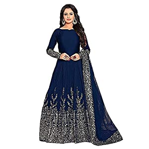 Parth fashion Women's Art Silk Lehenga Choli