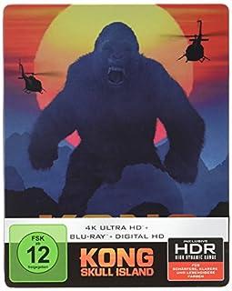 Kong: Skull Island (4K Ultra HD + 2D-Blu-ray) (2-Disc Version) (Steelbook) [Blu-ray] [Limited Edition]