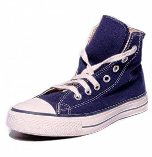 Converse Unisex 03FPL1076 Navy Canvas Casual Shoes - 9 UK