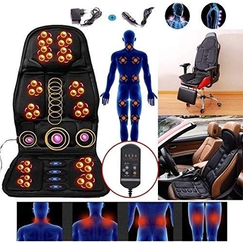 G-FLOOR-MAT Ganzkörper-Massage-Matratze, Multi-Funktions-Shiatsu-Massagematte Mit Hitze-Elektrische Massage-Matte Für Stuhlkissen Decke Für Wohltuende Körper