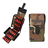 Kosibate Shotshell holder,for 12ga 12 Gauge 20ga 20 Gauge 870 Shotgun Universal Molle Velcro Design