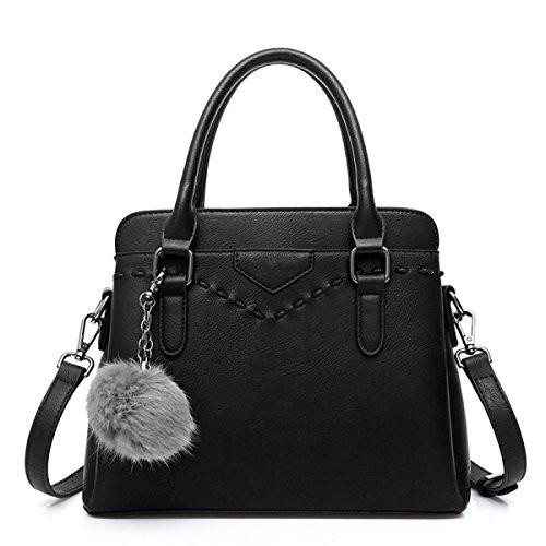 Dhfud Donna Tracolla Messenger Bag Messenger Strap Moda Nera