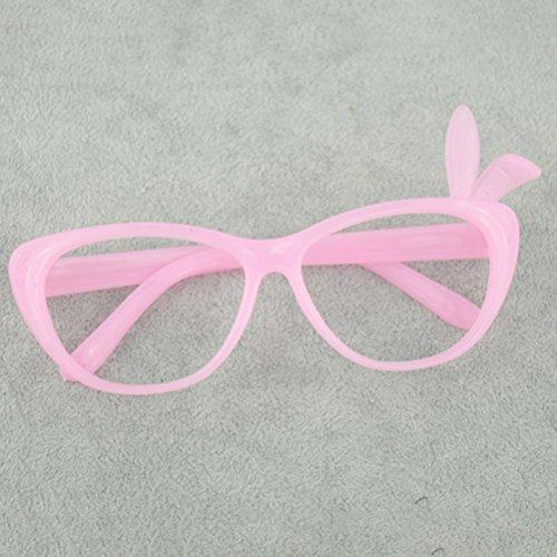 TOYANDONA 12 Stück Candy Colors Brillenrahmen Zauberer funktionale Verkleidungsbrille Kostümbrille (Nerd Candy Kostüm)