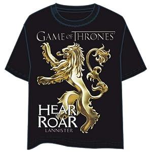 HBO Camiseta Juego de Tronos Logo Lannister Talla M