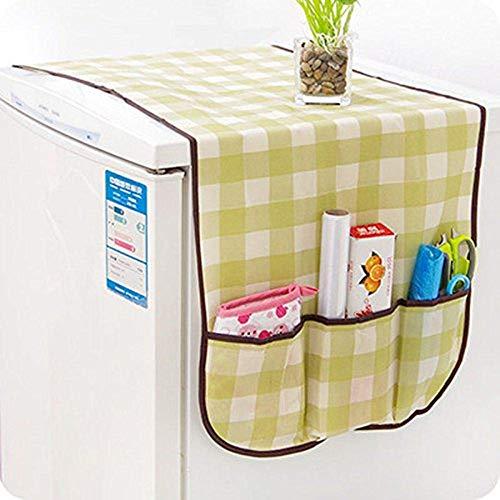 Machen Sie schöne Dekoration Kühlschrank Kühlschrank Staubdicht Abdeckung Muti-Use Tasche organisieren Aufbewahrungstasche