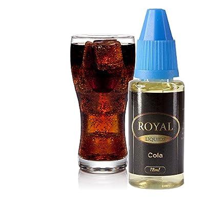 E-Liquid Cola ohne Nikotin für E-Zigarette 12ml Inhalt von Royal Liquids