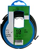 Profiplast PRP500229 - Bobina de cable (H07V-U, 2,5 mm² x 10 m), color negro