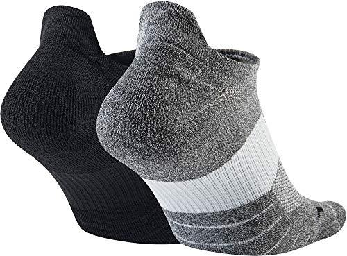 Nike Unisex Erwachsene Sneakersocken (2 Paar), Mehrfarbig (915), M