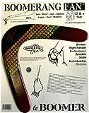 Boomerang le BOOMER - 55 gr - Zweiflügler Bumerang