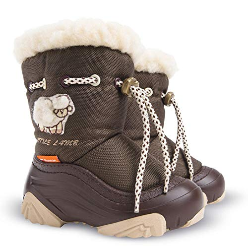 Demar Lambskin Winter Boots Snow Boots Children