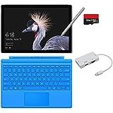 2017 New Surface Pro Bundle ( 5 Items ): Core M3 4GB RAM 128GB Tablet, New Surface Pen Platinum,Surface Pro Cover Light Blue,128GB Micro SD Card,Mini DisplayPort Adapter
