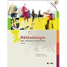 Méthodologie des Sciences Humaines 3e Ed