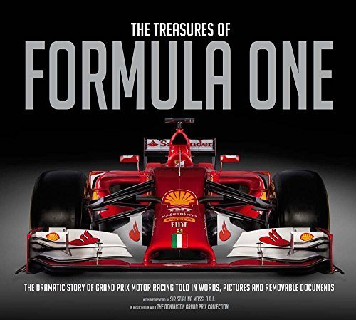 The Treasures of Formula One: The Dramatic Story of Grand Prix Motor Racing Told in Words, Pictures and Removable Documents 3 Slp edition by Jones, Bruce (2015) Hardcover par Bruce Jones