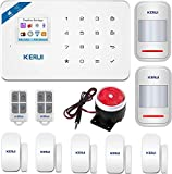 KERUI W18 Wireless WIFI+GSM Burglar Home Security Alarm System DIY Kit IOS/Android APP