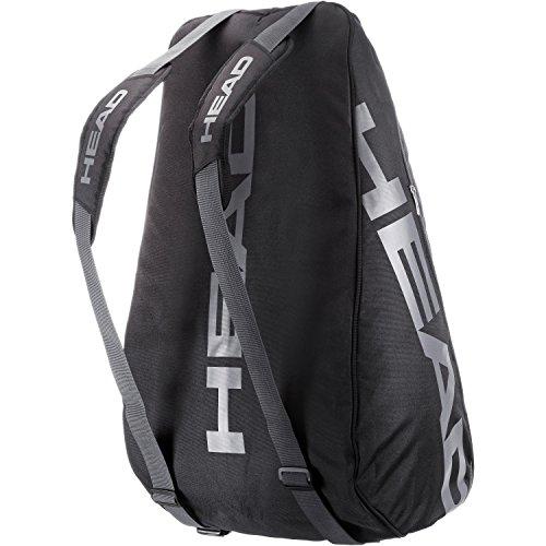 HEAD Tennistasche schwarz/grau