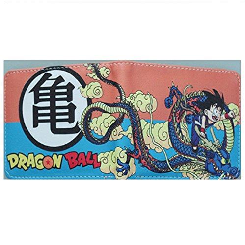Cartera Billetera de Bandai Dragon Ball Goku Niño Naranja