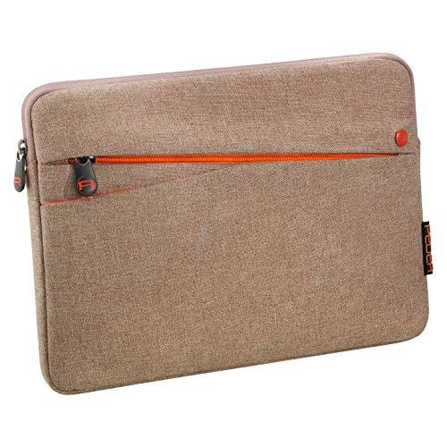 """PEDEA Tablet PC Tasche \""""Fashion\"""" für 10,1 - 11 Zoll (25,6 - 27,96 cm) Schutzhülle Etui Case mit Zubehörfach, beige"""