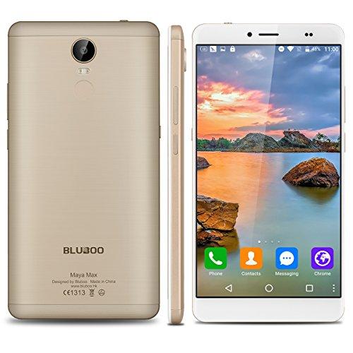 BlubooMayaMax - 32GB Smartphone libre Android 6.0 (4G, LTE, Pantalla 6.0