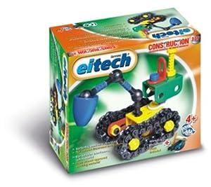 eitech 00329 - Kit de construcción de excavadora de plástico importado de Alemania