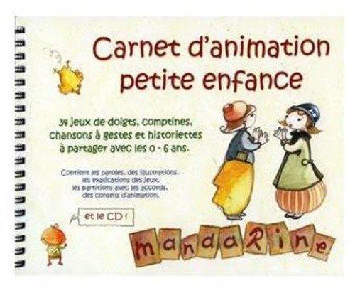 Mandarine, carnet d'animation petite enfance